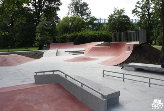 Skatepark in Cracow - Jordan Park