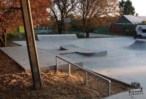 Skatepark à Komarówka