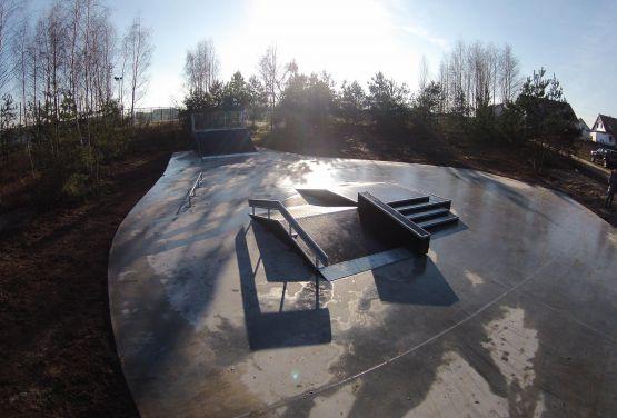 Kamionki Modułowy Skatepark