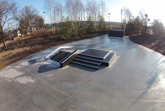 Kompozytowy skatepark  - Kamionki