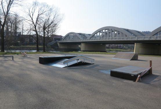Skatepark à Krościenko