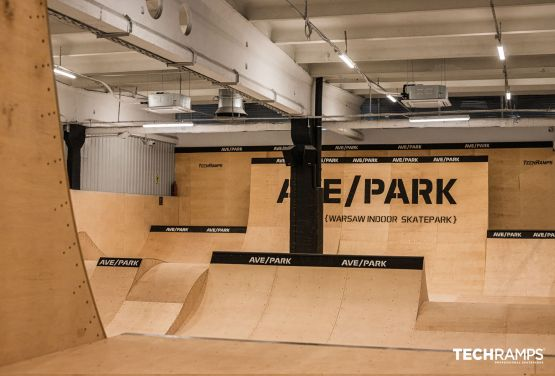 Skatepark à l'année