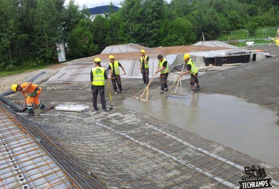 betong skatepark Norvège