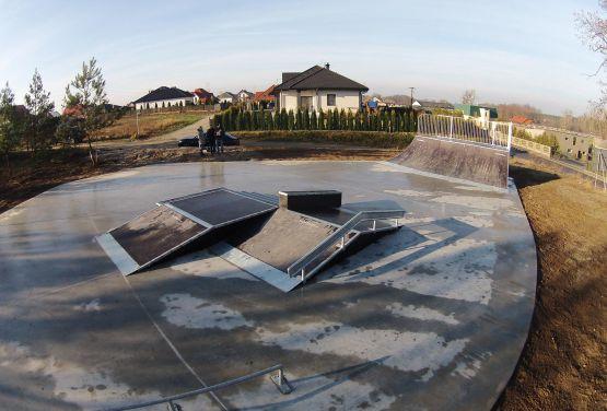 Kamionki Skatepark Modułowy