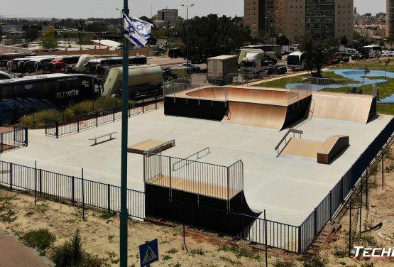 Skatepark modułowy - Izrael Ramla