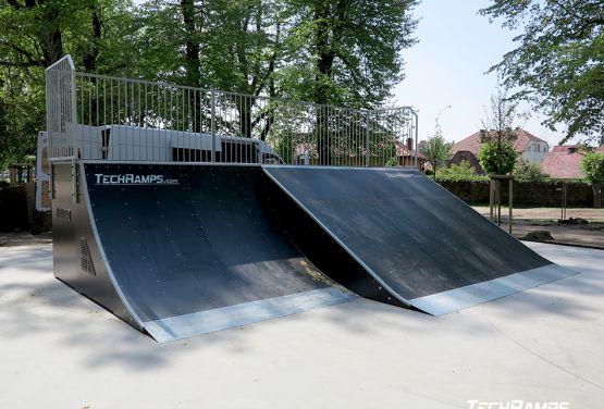 Skatepark modułowy - Sulęcin