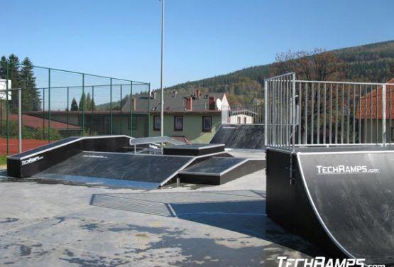 Skatepark modułowy w Świeradowie
