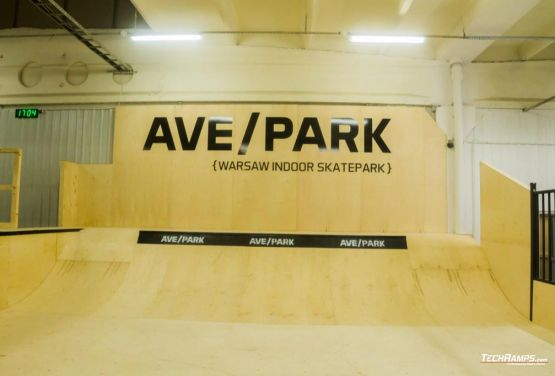 Warszawski skatepark modułowy  - AvePark