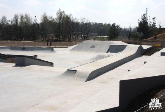 Olkusz skateboarding - street skatepark