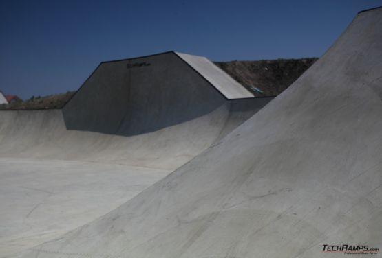 Konkreter Skatepark in Oppeln