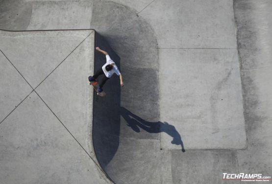 Skatepark à Oświęcim