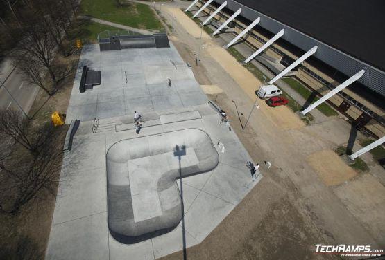 Zdjęcie z drona - Techramps