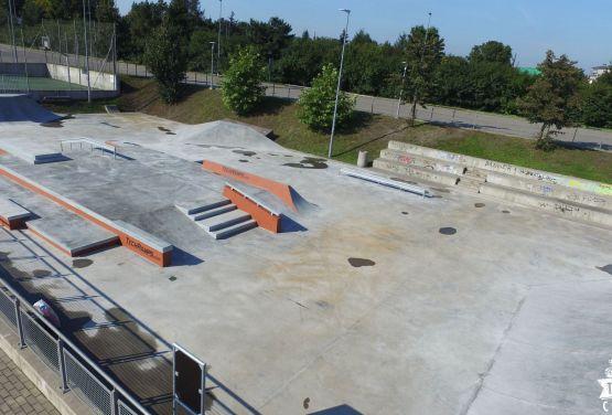 Betonowy skatepark od Techramps w Gdańsku - Ergo Arena