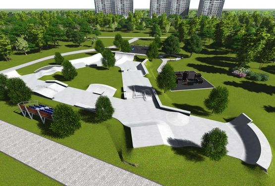 Project of skatepark Iżewsk
