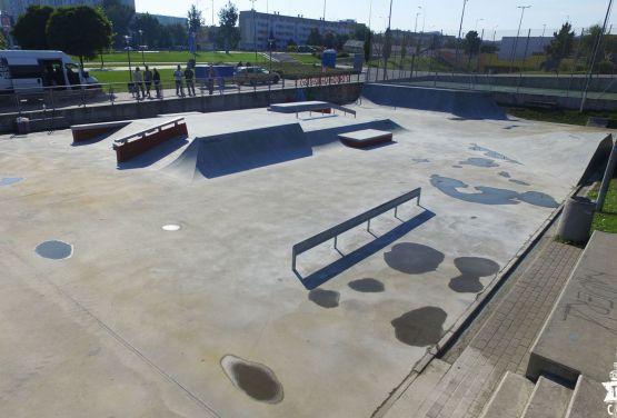 betonowe elementy skateparku Gdańsk