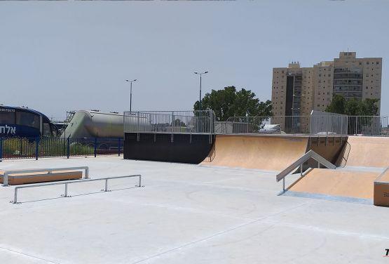 modular obstacles - skatepark Ramla