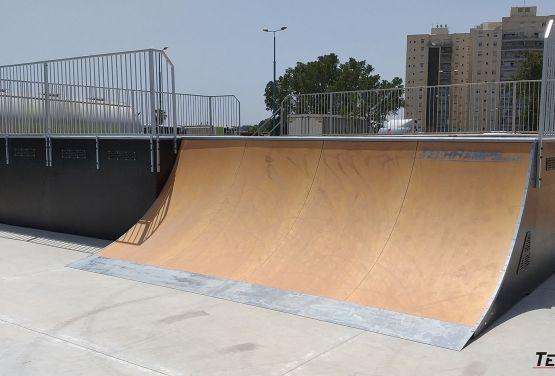 Ramla (Izrael) - skatepark Grupa Techramps