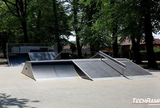 Modular skatepark - Sulęcin