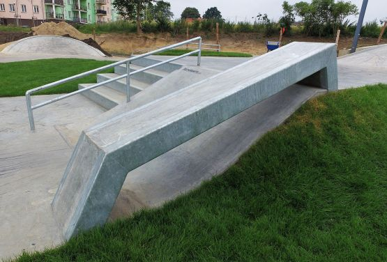 Skatepark à Świecie - Techramps Groupe