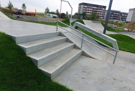 Obstacles à Świecie - skateplaza