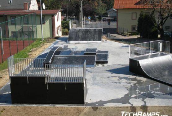 Skatepark - Świeradów (Polen)