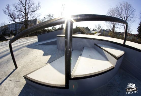 Skatepark Tarnów - Beton