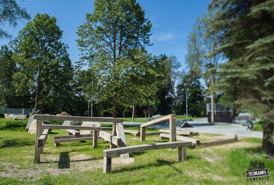 Trial Park w Rabce Zdrój