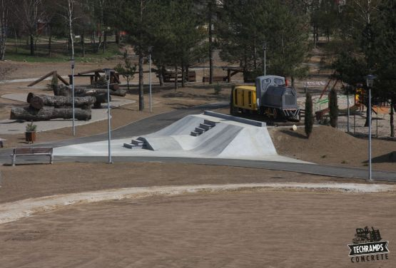 Skatepark-Element in Olkusz