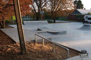 Skatepark w Komarówce - Techramps Concrete