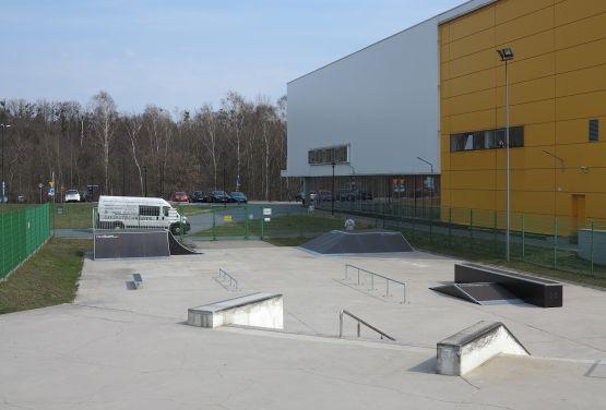 Skatepark w Tarnowskich Górach (śląskie)