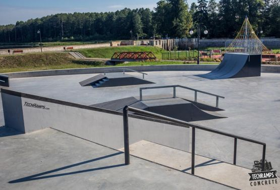 Techramps - skatepark Wąchock