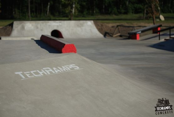 Techramps - skatepark beton