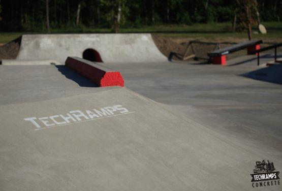 Techramps - Konkreter skatepark