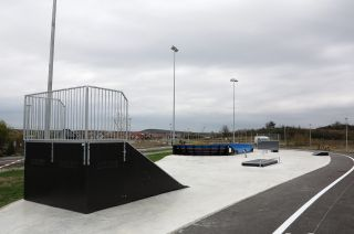 Quarter ramp in Bilcza