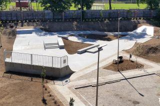 Concrete skatepark Żagań - Poland