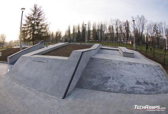 Skateplaza en Cracovia Mistrzejowice