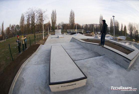 Skateplaza Mistrzejowice Betonowa
