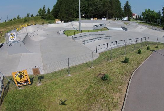 Street skatepark à Olkusz