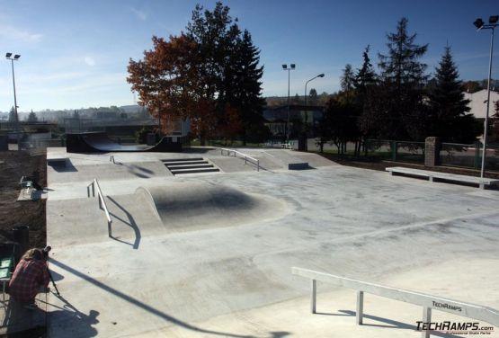 Skatepark beton - Będzin