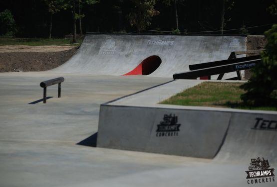 Skatepark - Woodcamp - Przysucha
