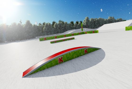 Snowpark - Arena Słotwiny en pologne