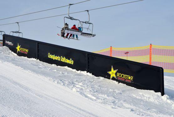 Snowpark on Szwajcaria Bałtowska (Poland)