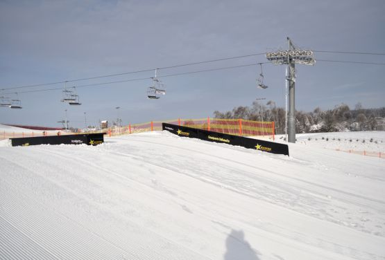 Snowpark à Bałtów (Pologne)