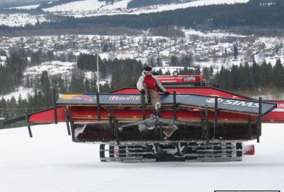Montaż snowparku - Białka Tatrzańska 2005