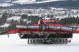 Installation of snowpark - Białka Tatrzańska 2005