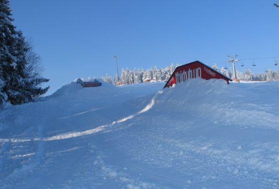 Białka Tatrzańska -view on snowpark