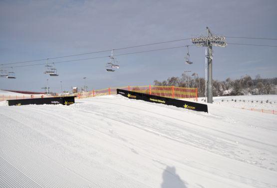 Snowpark  in Bałtów (Polen)