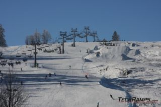 Snowpark in Witów - lift