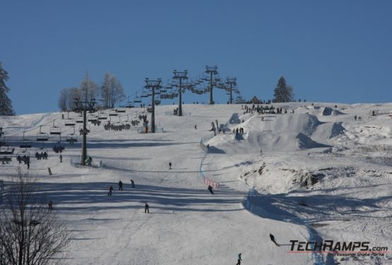 Snowpark in Witów