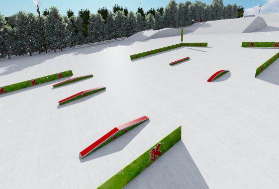 Snowpark w Krynicy (Arena Słotwiny)